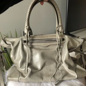 "Rebecca Minkoff ""large regan satchel tote"""